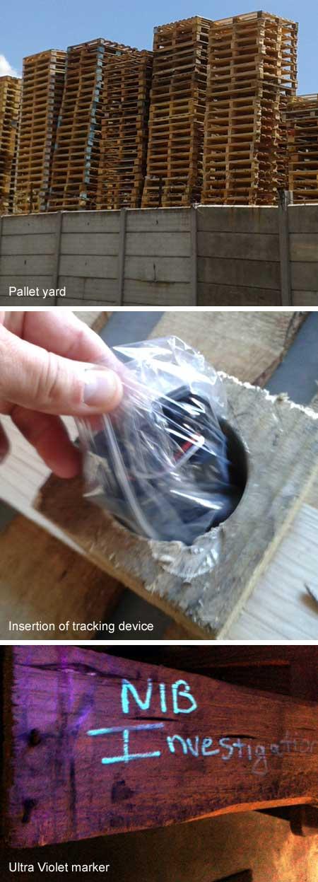 NiB Case Studies - Pallet trace